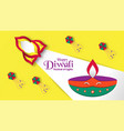 diwali is festival of lights of hindu for vector image vector image