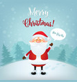 merry christmas greeting card christmas and new vector image vector image