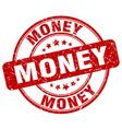 money red grunge round vintage rubber stamp vector image vector image