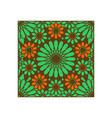 pattern geometric islamic background template art vector image