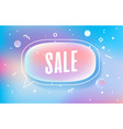 sale in design banner template for web vector image vector image
