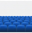 Seat on transparent background vector image