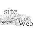analyze this web analytics vector image vector image