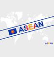 asean flag and text