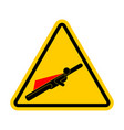 attention super hero danger superhero road yellow vector image vector image