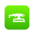 fret saw icon digital green vector image vector image