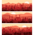 Muslim cityscapes vector image vector image