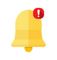 new notification icon vector image vector image