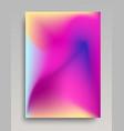 organic purple gradient background vector image vector image
