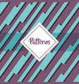 patterns geometric modern graphic background vector image