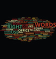 power words how right language can vector image vector image