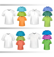 shirt set vector image