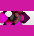 abstract background - geometric cut paper design vector image vector image