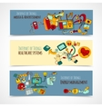 Internet Of Things Banners vector image vector image