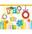 Kids Joy vector image