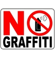 No aerosol spray sign No alcohol sign vector image