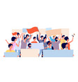 protest demonstration politic revolution angry vector image