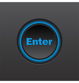 Enter icon background vector image