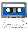 adudio cassette vector image vector image