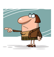 Angry boss cartoon vector image vector image