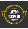 Auto Repair golden icon vector image vector image