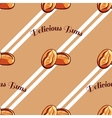 Buns Seamless Pattern vector image