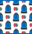child car seat seamless pattern background vector image