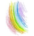 crayon texture4 vector image vector image