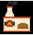 Decorative russian stove