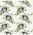 exotic flowers set botanical vintage vector image vector image