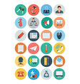 Office Flat Icons 2 vector image vector image