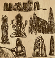 Religious no3 - pack hand drawings