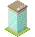 Set of isometric buildings - 02 vector image