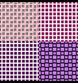 simple seamless square pattern background design vector image vector image