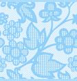 vintage floral seamless pattern decorative vector image