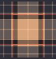 violet tartan plaid seamless pattern vector image vector image