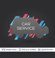 black badge car sticker vector image vector image