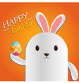 Easter Day Bunny vector image vector image