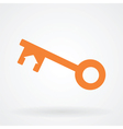 key home symbol icon vector image