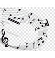 musical designs vector image vector image