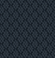 Seamless abstract dark blue retro pattern in vector image vector image