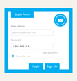 User login 15 vector image vector image