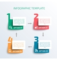 Business Infographics template vector image