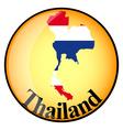button Thailand vector image
