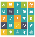 icons plain tablet education vector image vector image