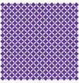 purple arabic geometric seamless pattern image vector image