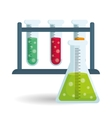 Science design Research concept Chemistry vector image vector image