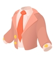 Suit icon cartoon style vector image vector image