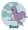 ABC Cartoon Seal vector image vector image