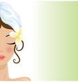 beauty spa vector image vector image